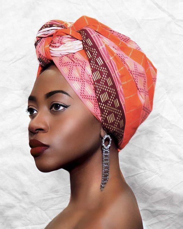ZAKAARA AFRICAN PRINT TIMI HEADWRAP