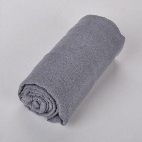 Zakaara Grey Solid Headwrap Turban