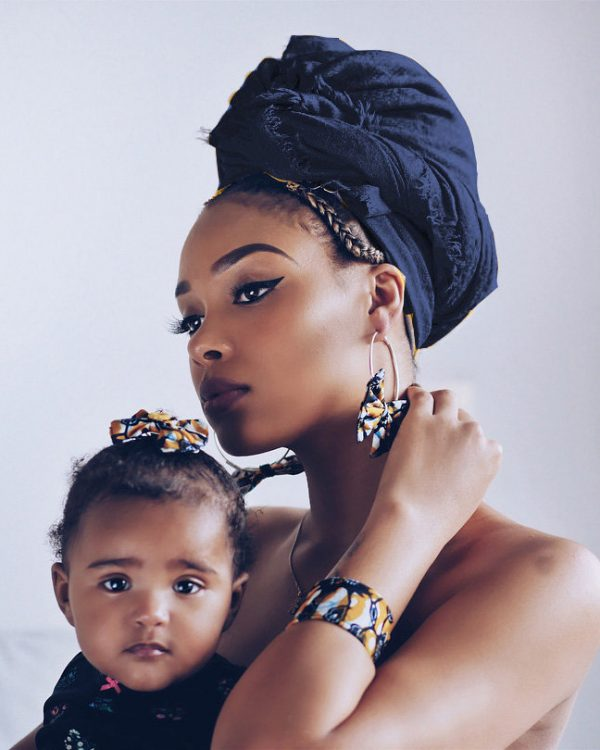 Zakaara Navy Solid Headwrap Turban