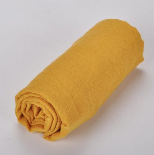 akaara Yellow Solid Headwrap Turban